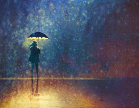Iubind desculți prin ploaie